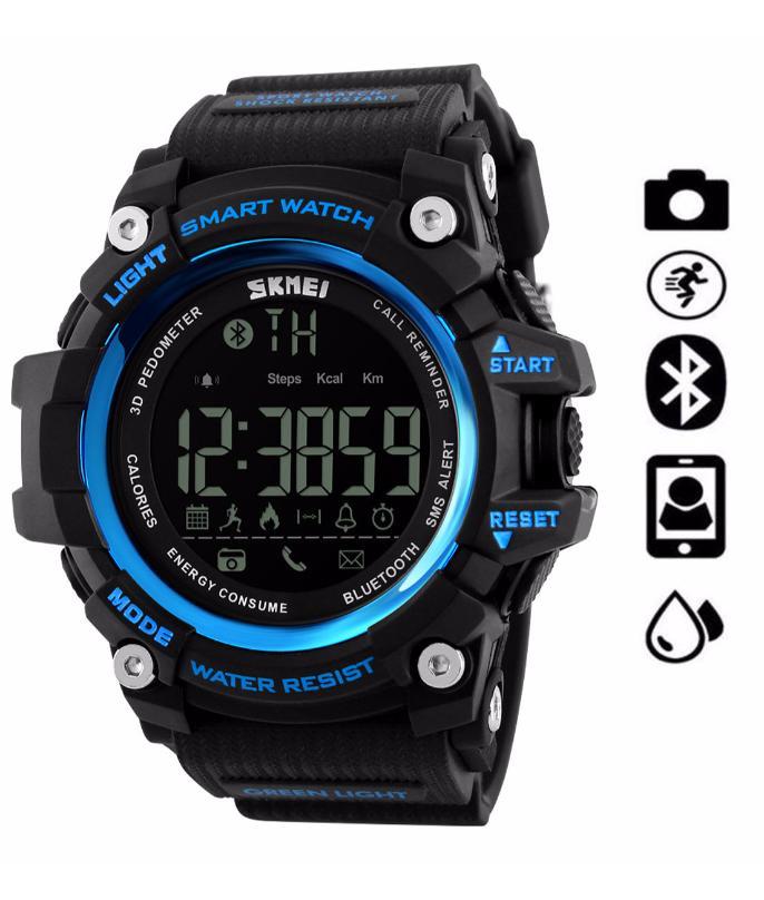 a92738eef SKMEI 1227 Bluetooth Smart Watch Call Message Notification Pedometer 50M  Waterproof Watch