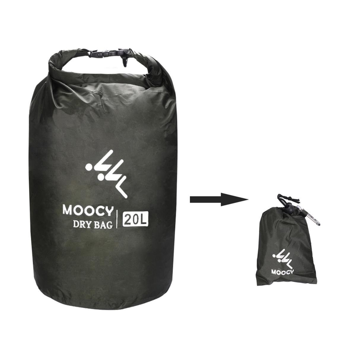 5//20//50L Waterproof Heavy Dry Bag Storage Dry Sack Hiking Camping Kayaking Canoe