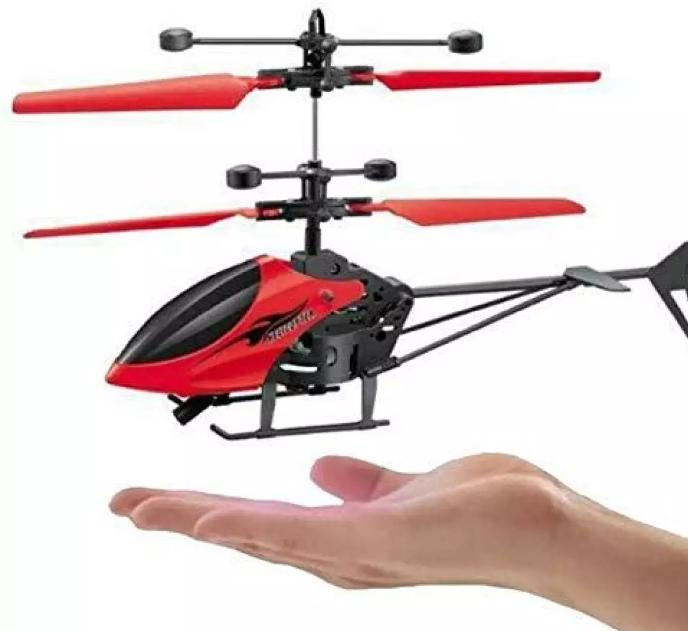 Flying helicopter with USB Charging Cable Toy for kids,boys n girls age5+