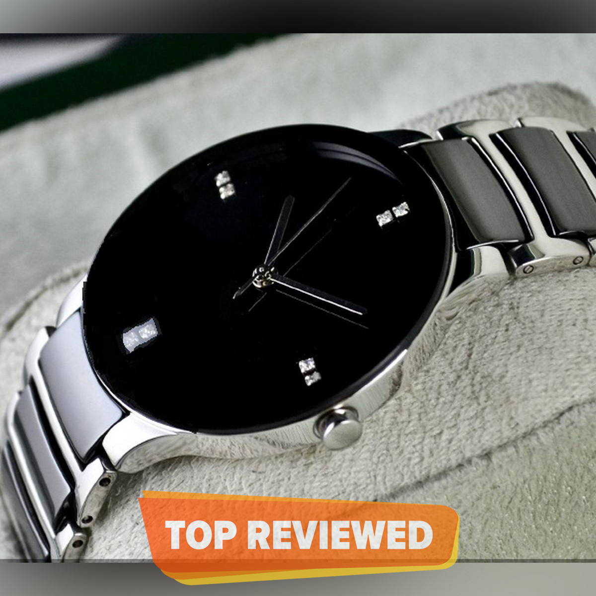 High Quality Men's Watches Stainless Steel Waterproof Watch for Man Wristwatch - GIFT BOX PACKED