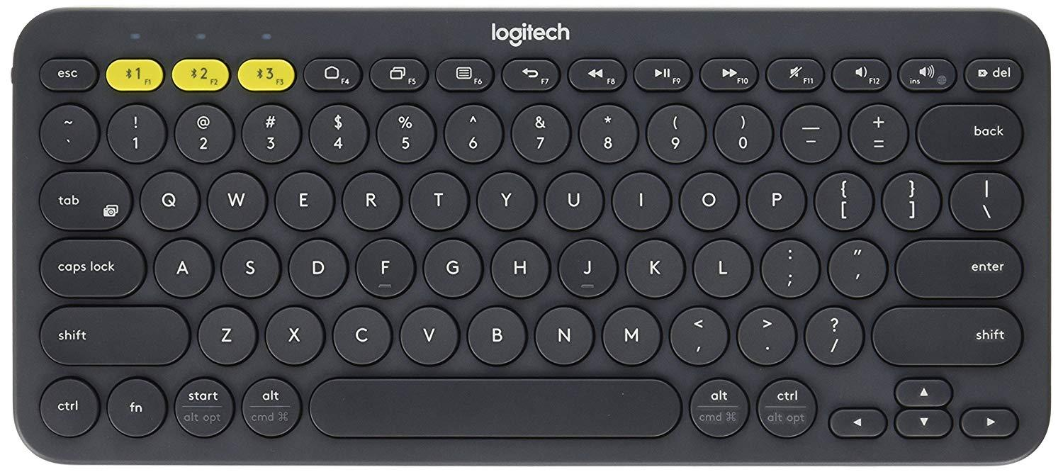 Logitech K380 Multi-Device Bluetooth Keyboard – Windows, Chrome OS ...