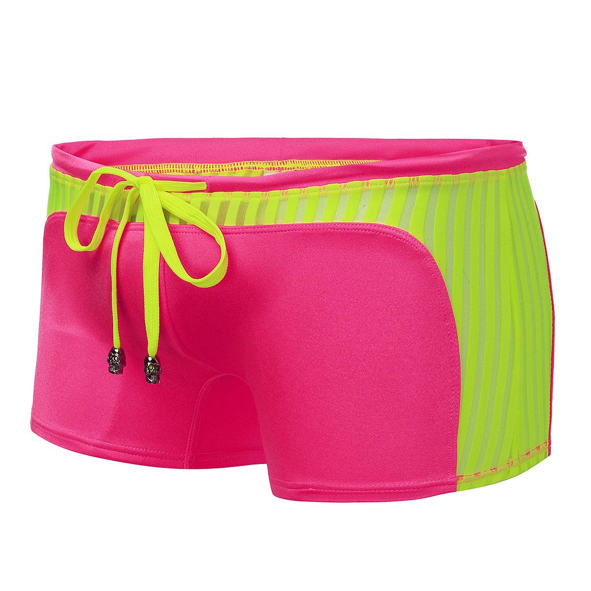 bc1f11a79d Loveliness Fashion Sports Mens Sexy Swimwear Boxer Briefs Swimming Trunks  Low-waist Underwear Underpants Short