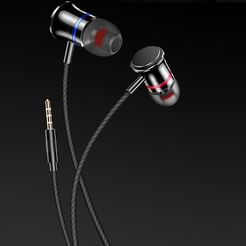 HKT EAUA-018 Wire headset For Mobile - Black
