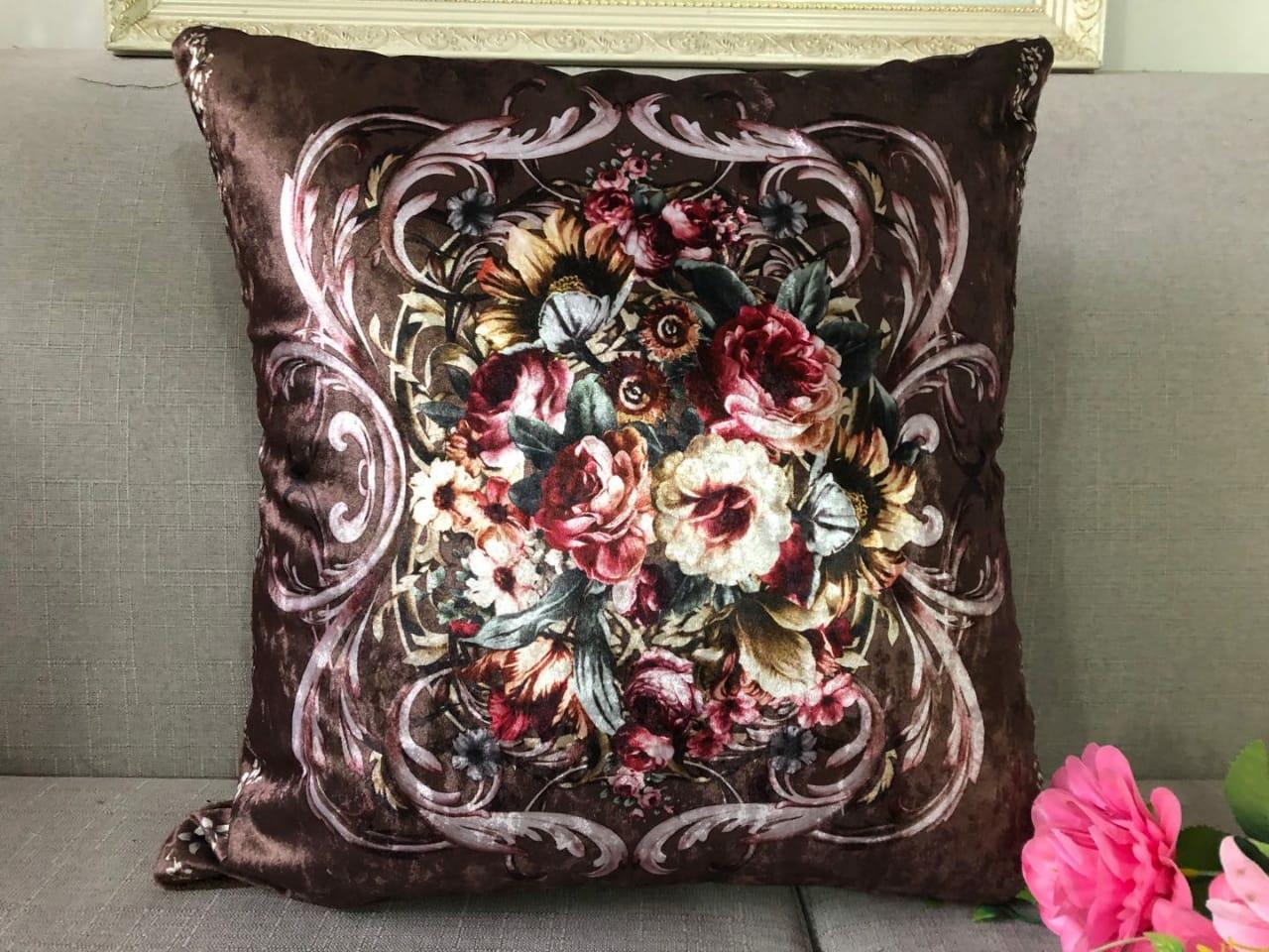 Home Decorative Accent Cushion- 16 x 16 inches 1 Piece Sofa Set