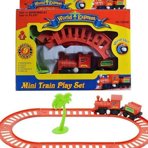 Mini Train Play Set Toy For Kids