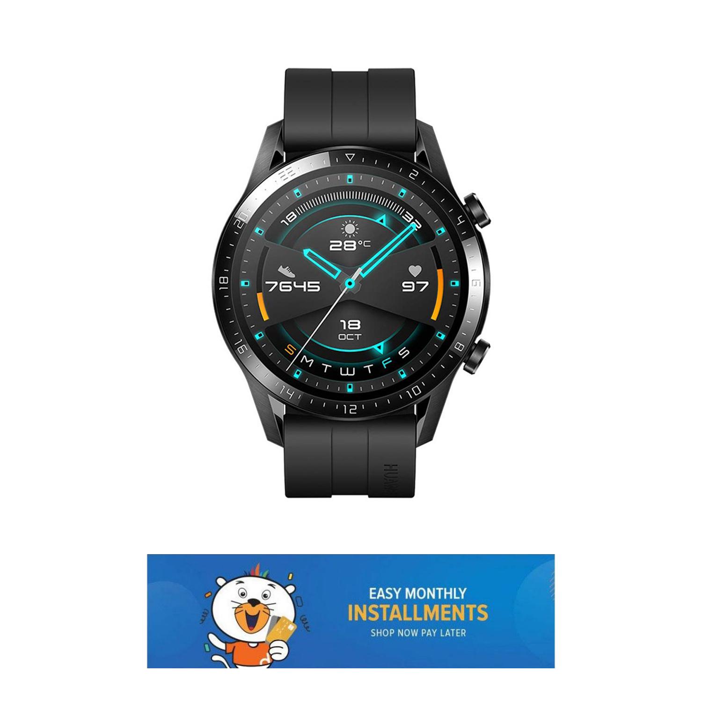 Huawei Watch GT 2 Original Black Fitness Watch/ Smart Watch/ Fitness Tracker Watch