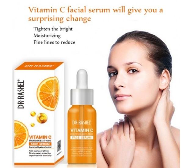 DR.RASHEL Vitamin C Brightening & Anti-Aging Face Serum 50 ml: Buy Online  at Best Prices in Pakistan | Daraz.pk