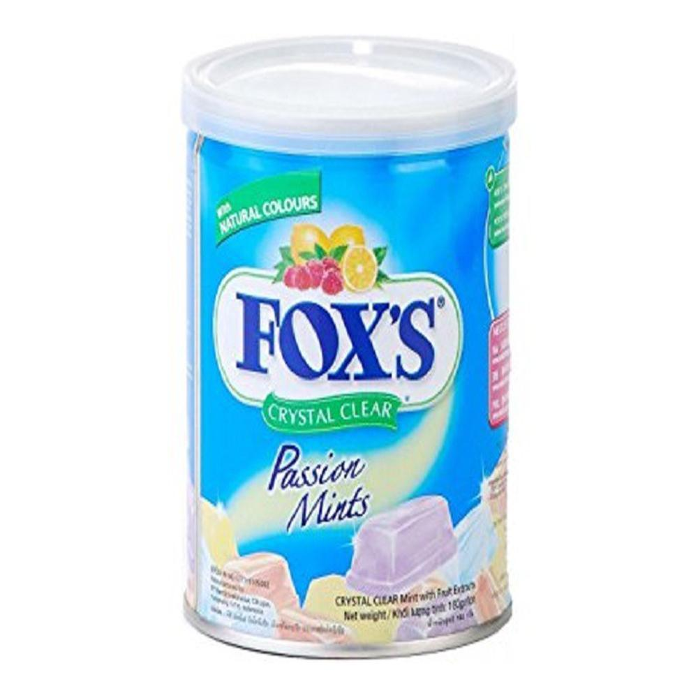 Foxs Crystal Clear Passion Mints Tin 180g