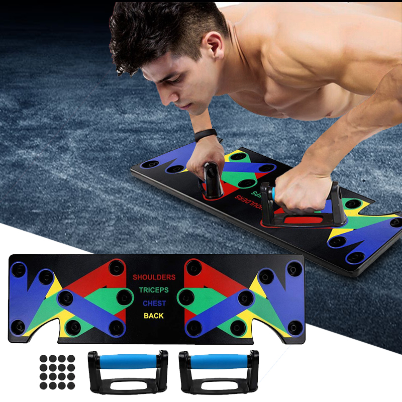 Multi Function Push Up Rack Training Board Push Up Stand for Gym Fitness Home ABS Abdominal Muscle Building Exercise
