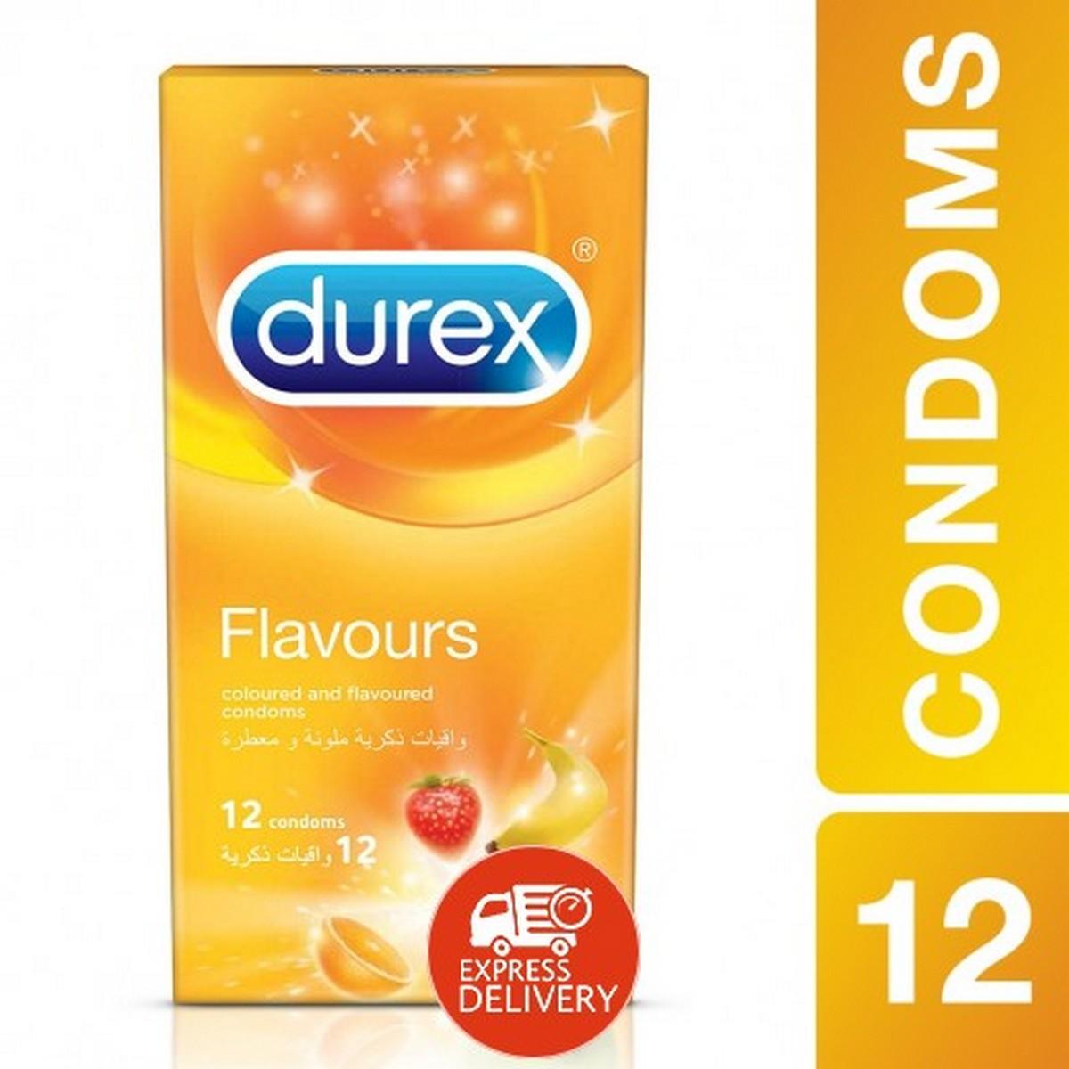 Durex Select Flavours 12 Condoms - Condoms of different flavours