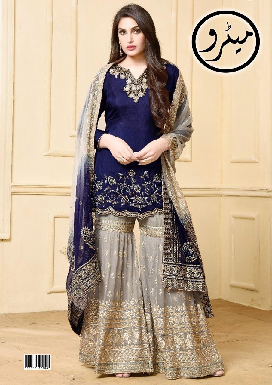 Party Wear Bridal Dress Casual Style Wedding Cloth Garara