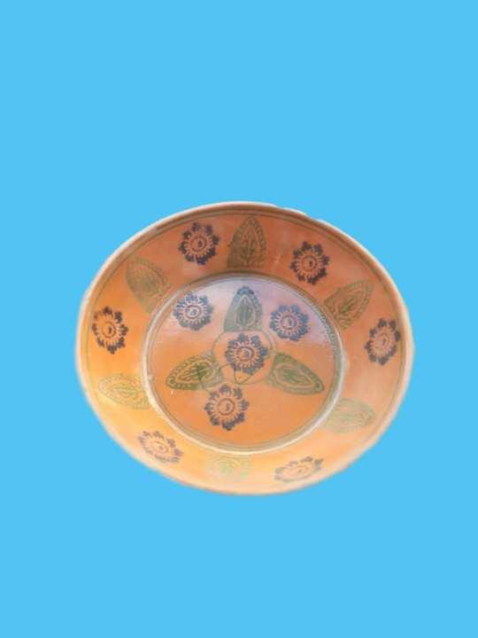 Clay Plate (Mitti Ke Plate) Large Size
