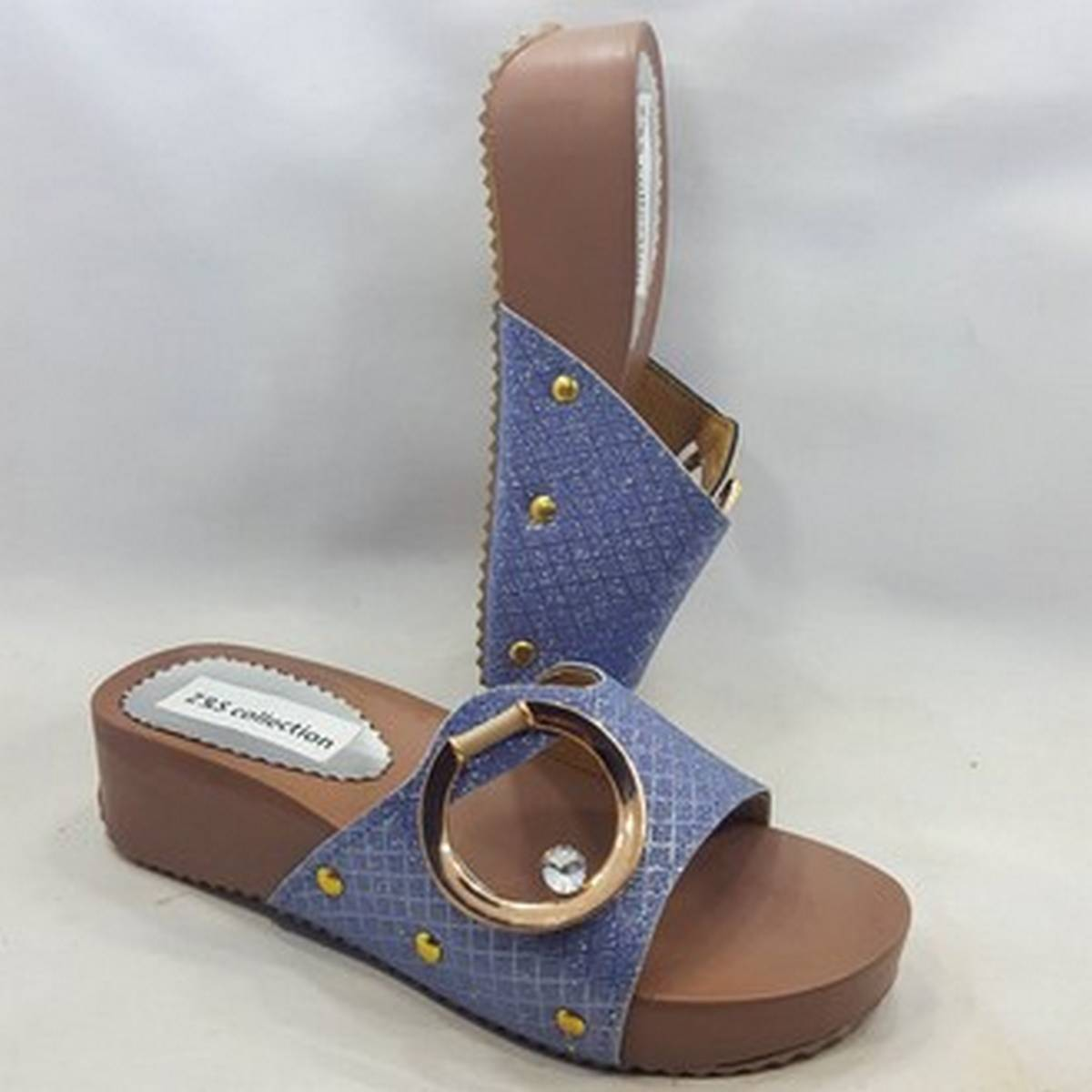 Elegant Wedge Heeled Sandal For Women Fashion ZS # 01