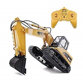 Remote Control Excavator Construction Tractor Toy