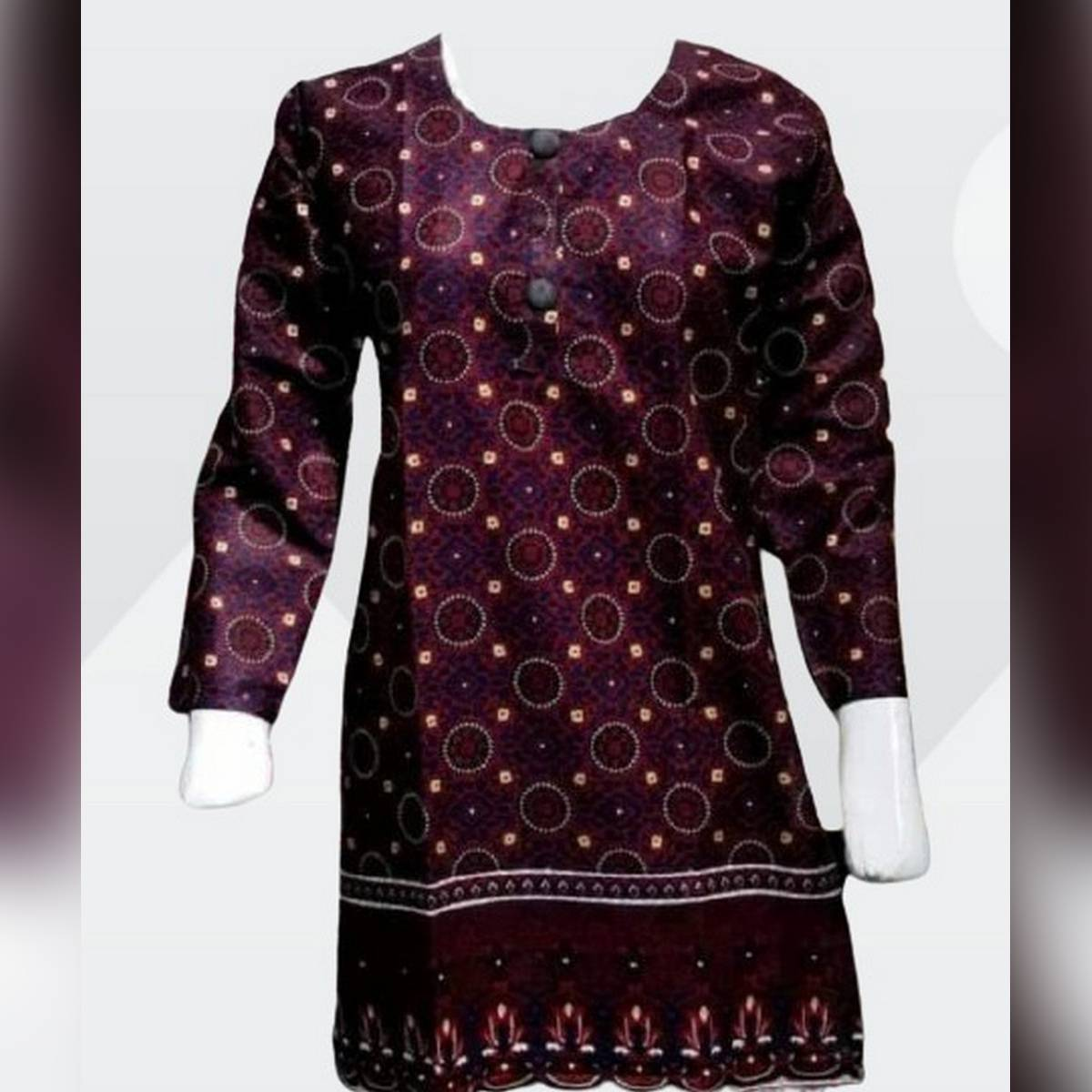 Printed Lawn Kurti For Ladies and Girls Good Quality FAbric Fashion Style Trending sindhi
