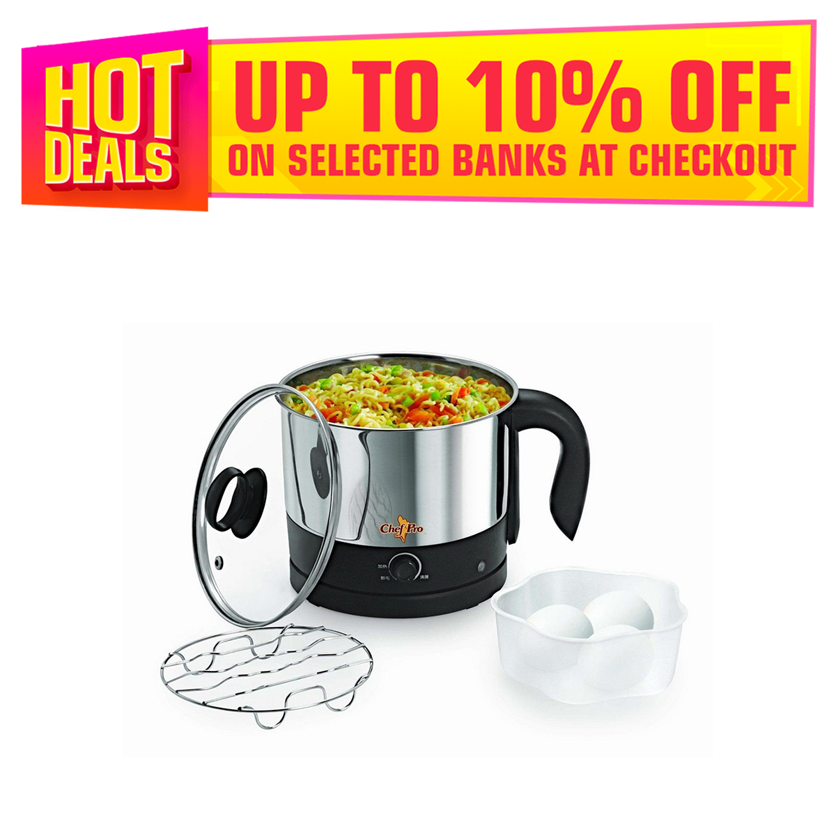 Electric kettle - Multipurpose