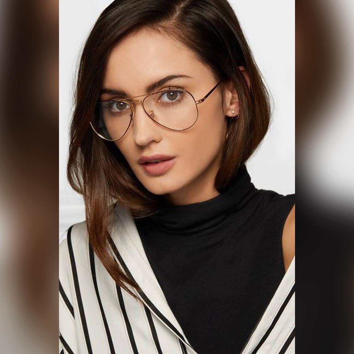 Casual Aviator Glasses For Girls