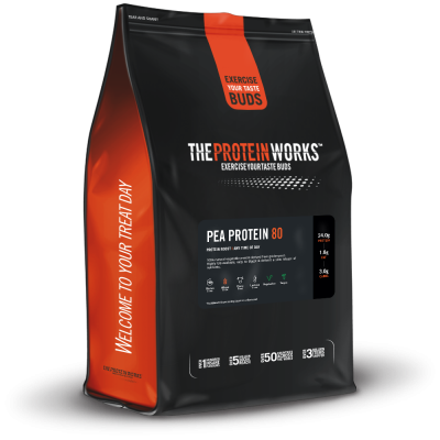 The Protein Works Pea Protein 1 kg (2.2 lbs)