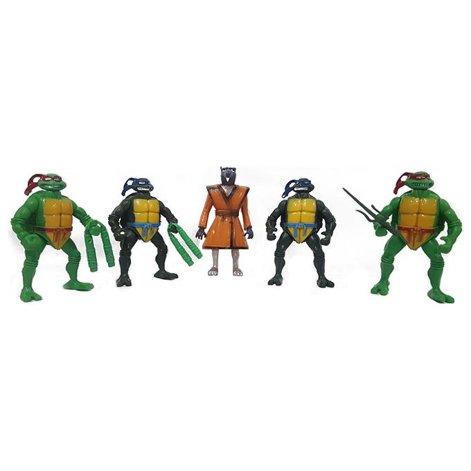 Teenage Mutant Ninja Turtles TMNT - 5 Action Figures Set