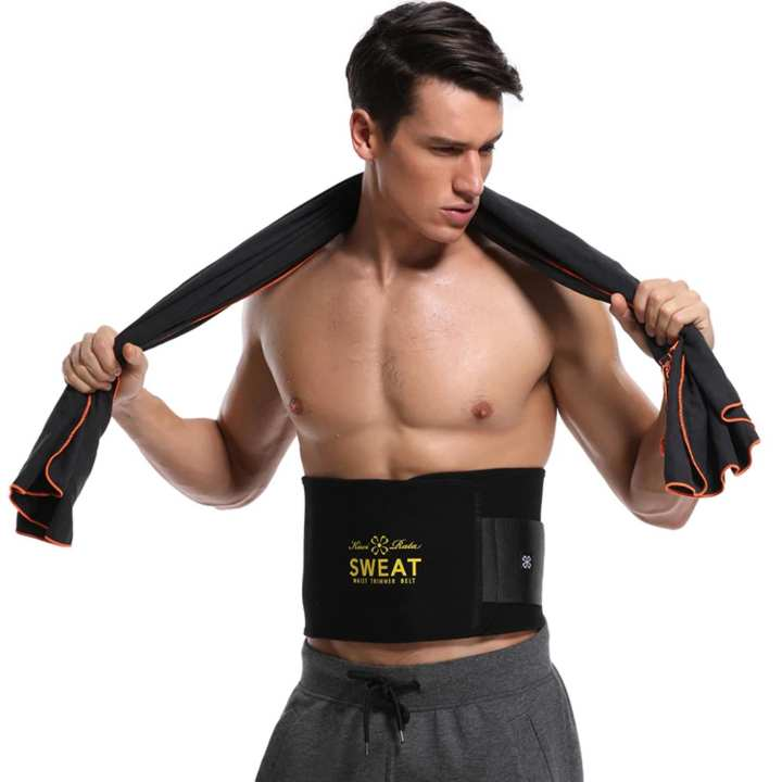 No.1 Sweat Belt Slimming Belt (Black)