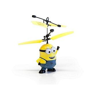 Minions Hand Induction Flying Toy -Yellow