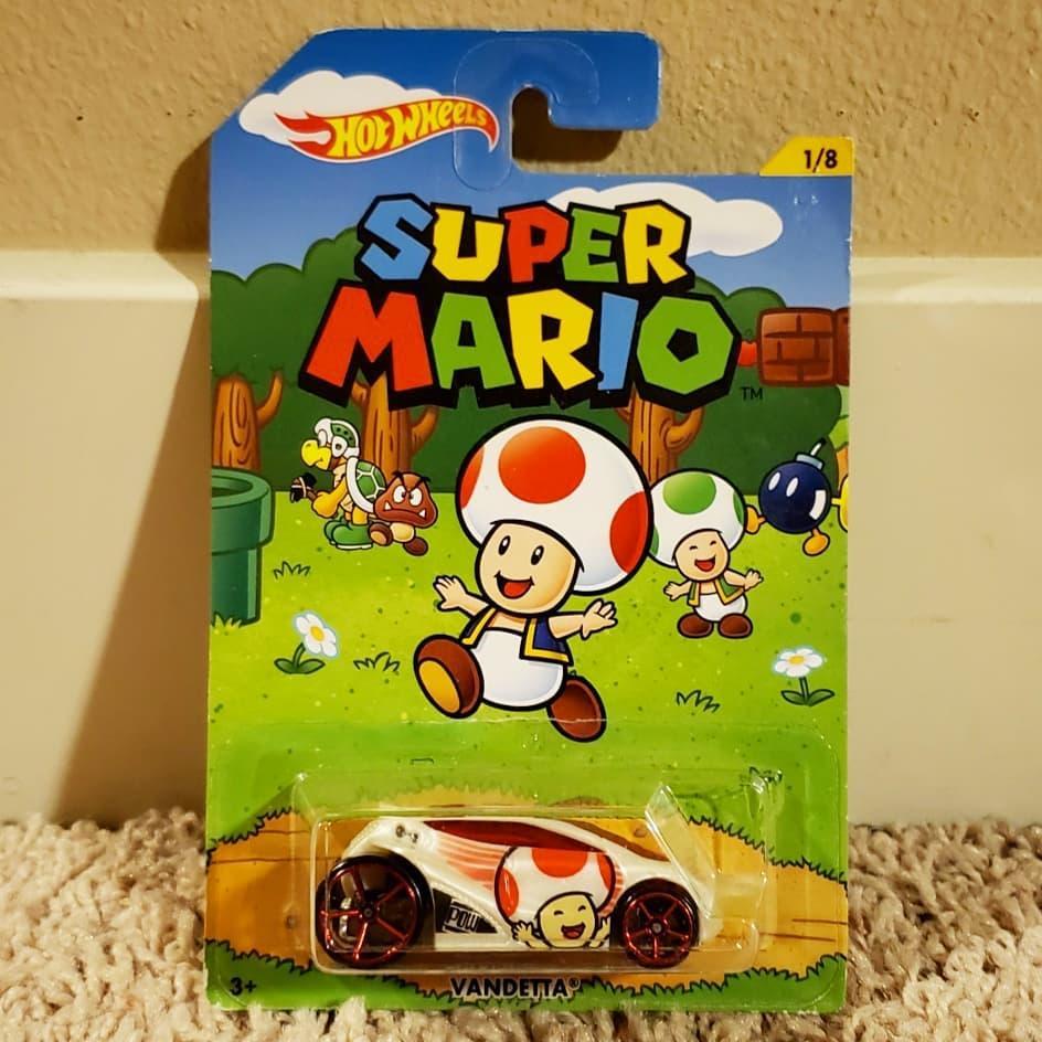 Khanaan - Hotwheels Vandetta Super Mario Series - Diecast - Scale 1/64