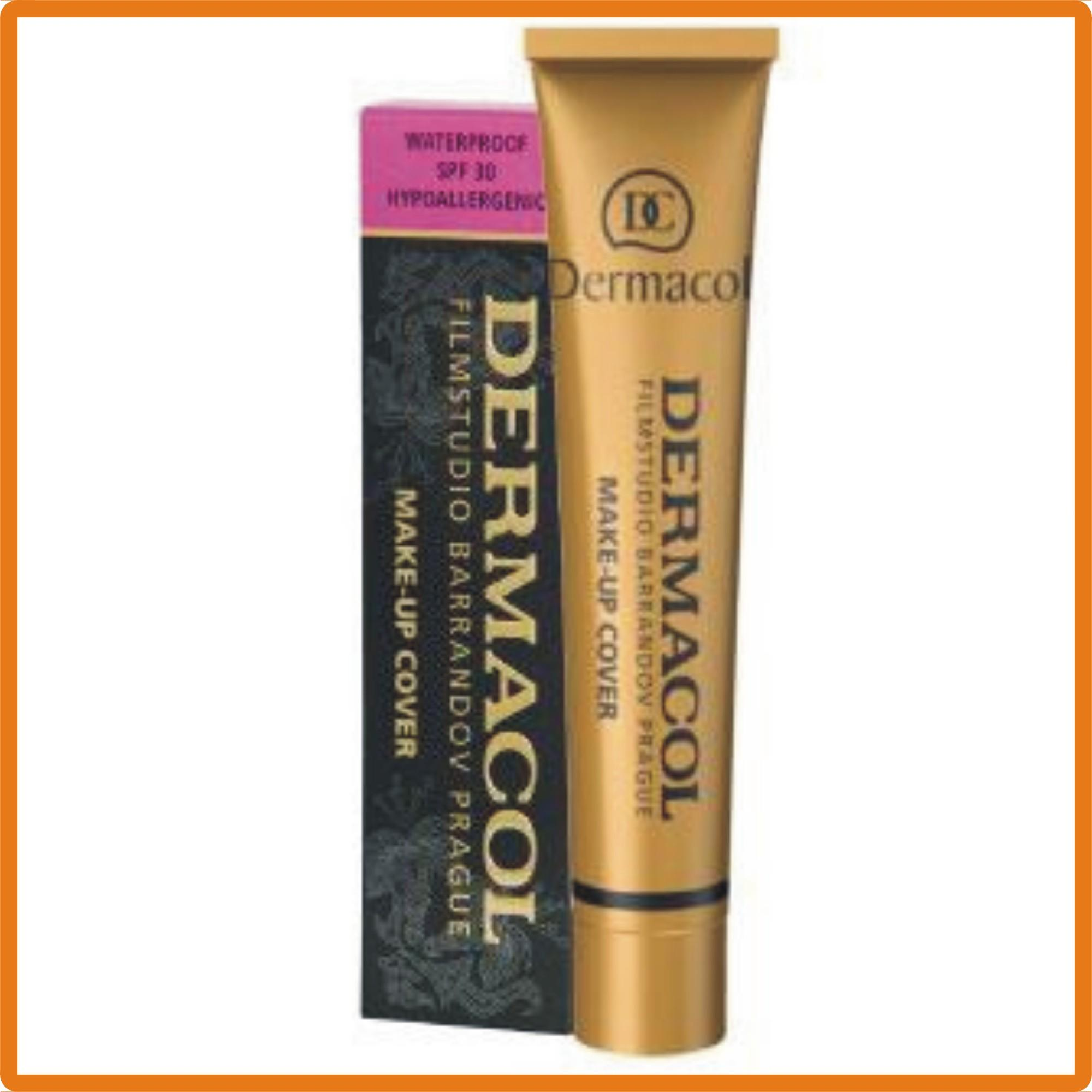 Dermacol Original Make-Up Cover Foundation water proof spf 30 (210): Buy Online at Best Prices in Pakistan | Daraz.pk
