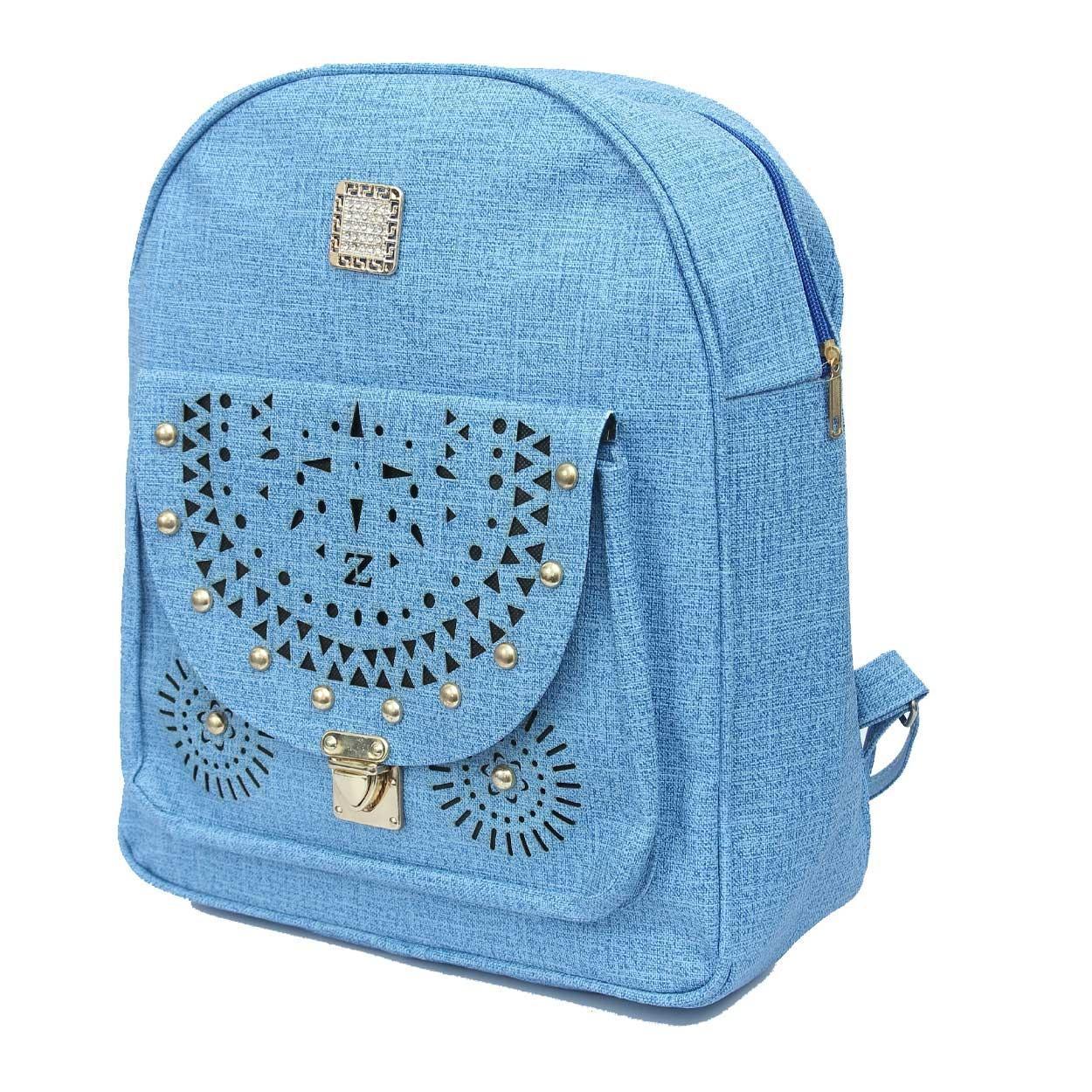 Fancy Stylish Multicolored Girls School Bag Girls College Bag Girls Backpack High School College Backpack For Girls Women Bag Ladies Bag