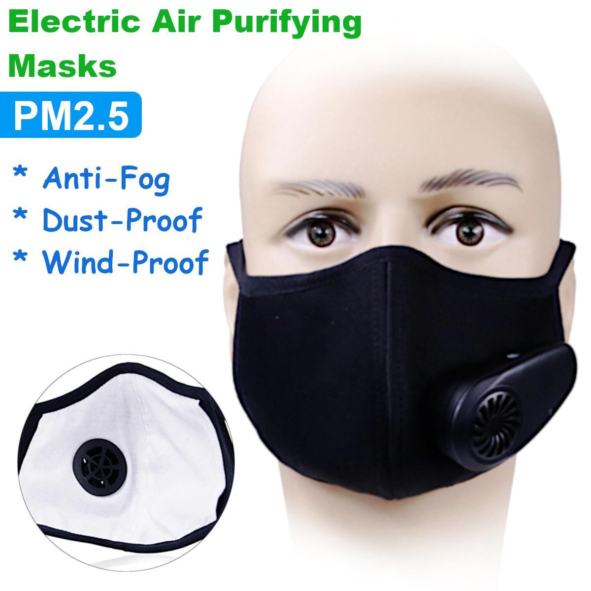 Fresh Pm2 Purifying N95 Smart Mask Supply Air Dust Pollution Anti Face Electric 5 Anti-fog