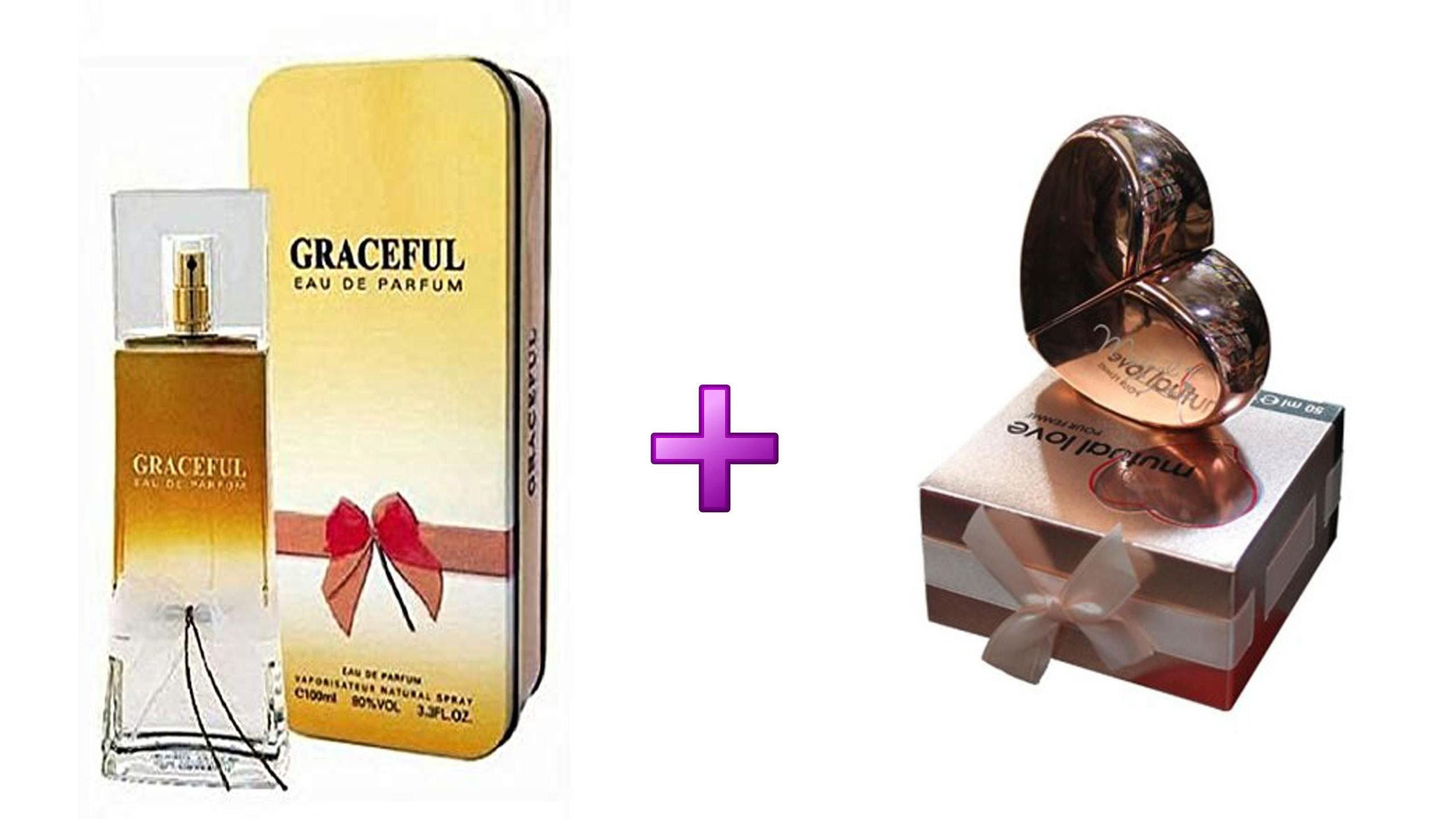 Gift Pack For Girls Graceful Mutual Love Gold Perfumes Buy