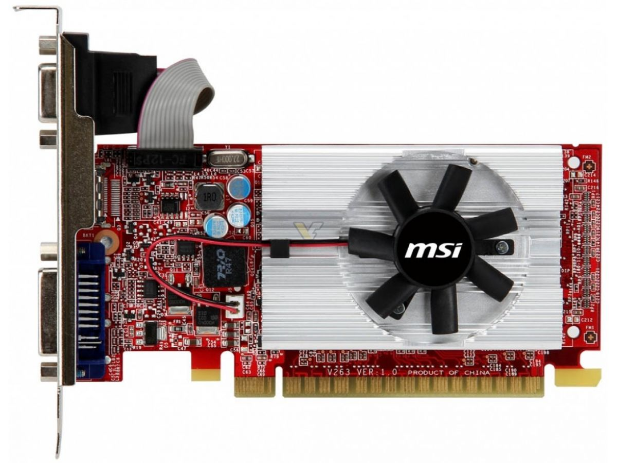MSI GeForce GT520 1GB DDR3 Graphic Card VGA PUBG GTA5