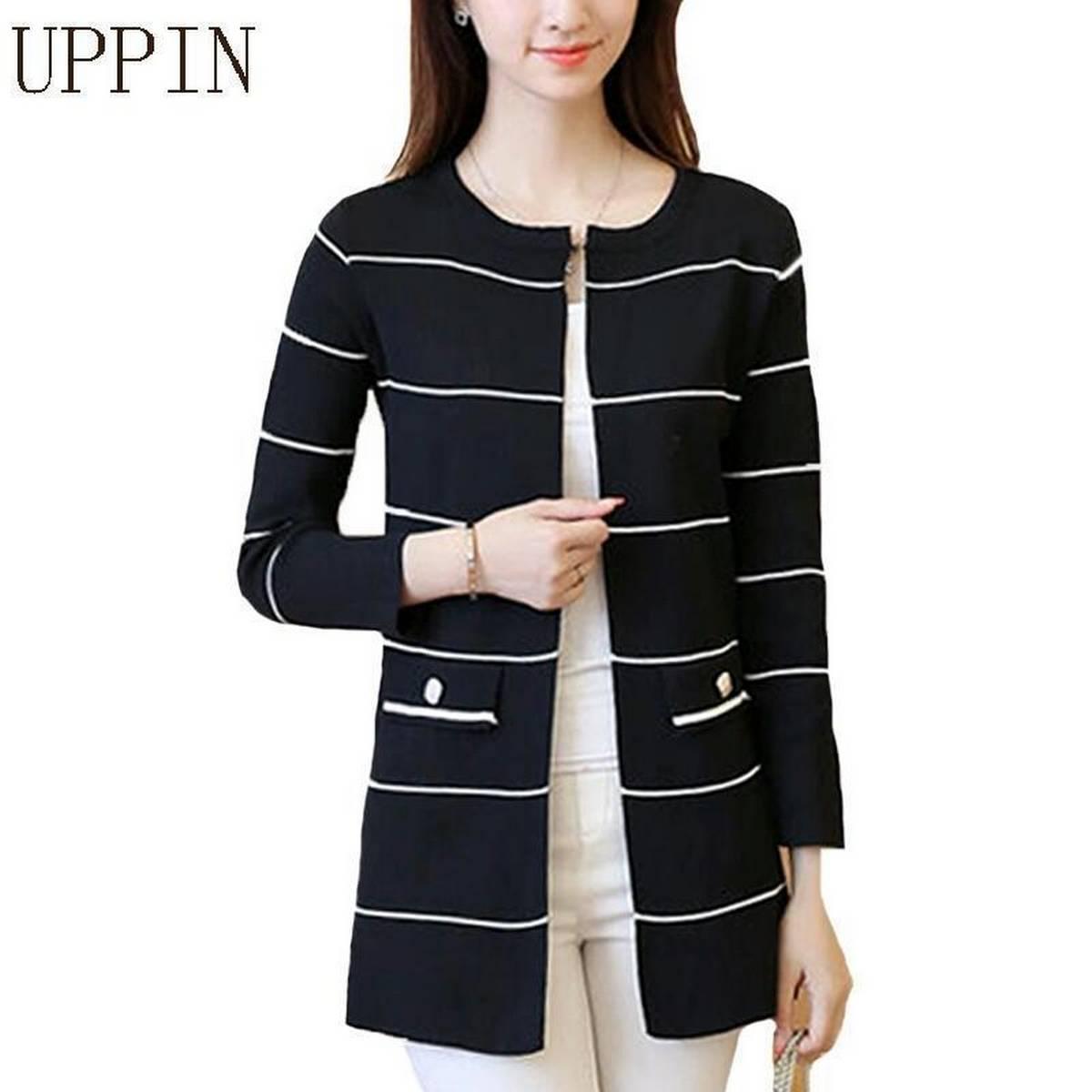 Stylish Lining Upper Cardigan For Women