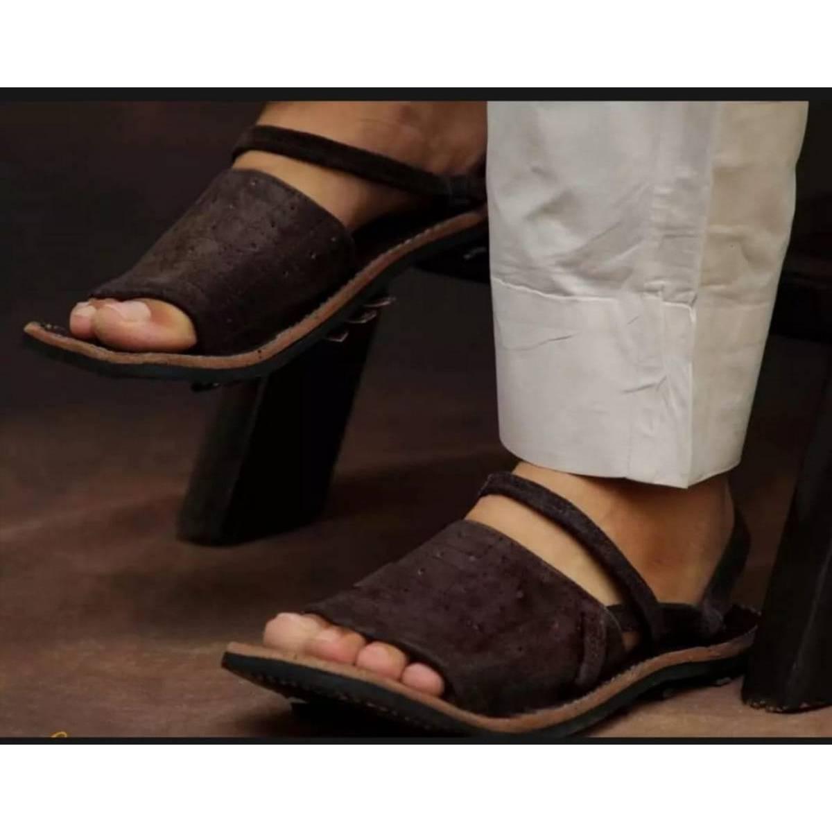 stylish and  fancy sober balochi chappal sandal for men