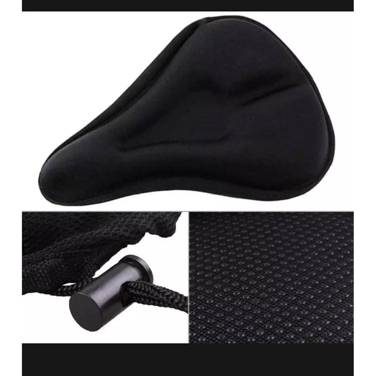 Front Seat Mat Soft Bike Saddle Pad Silicone Seat cover Road Bicycle Cycling Sports