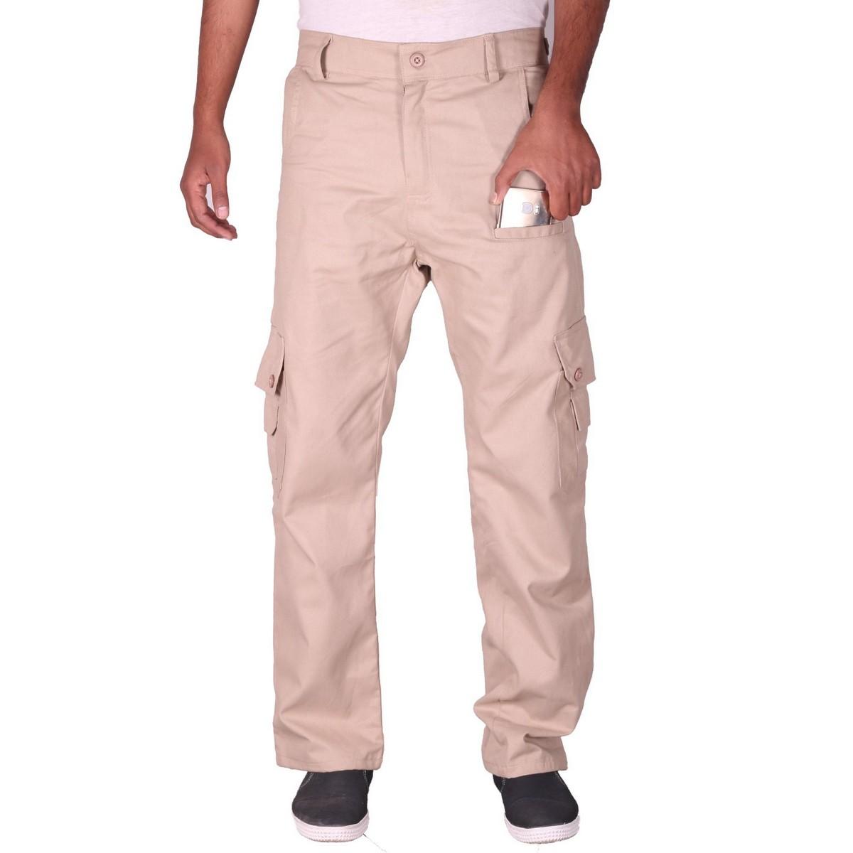 Khaki Pro Cargo Pant - Cargo Trousers