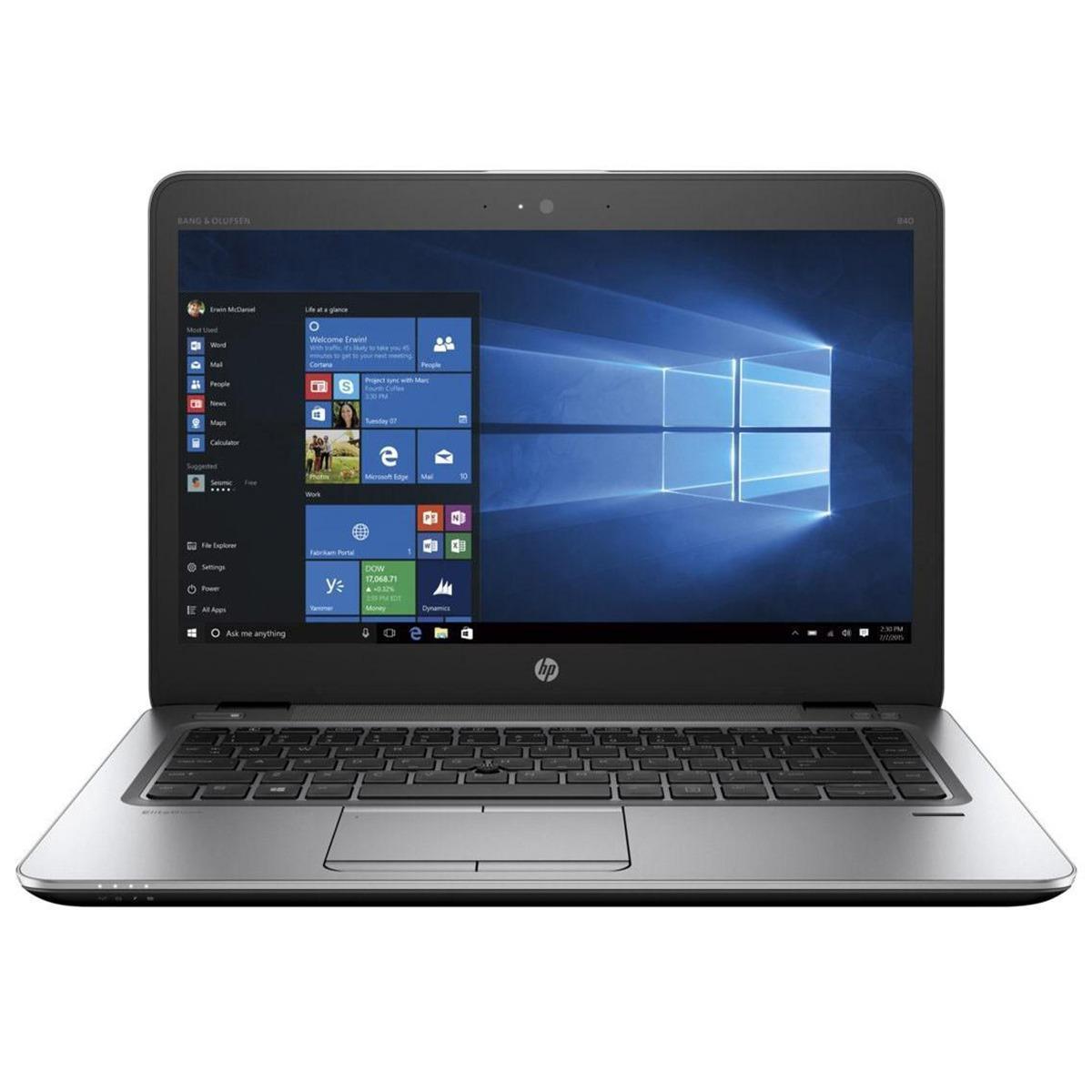 HP Elitebook 840 G3 6th Generation 8GB RAM, 256GB SSD, 14 inch Display LED  Display, LAPTOP
