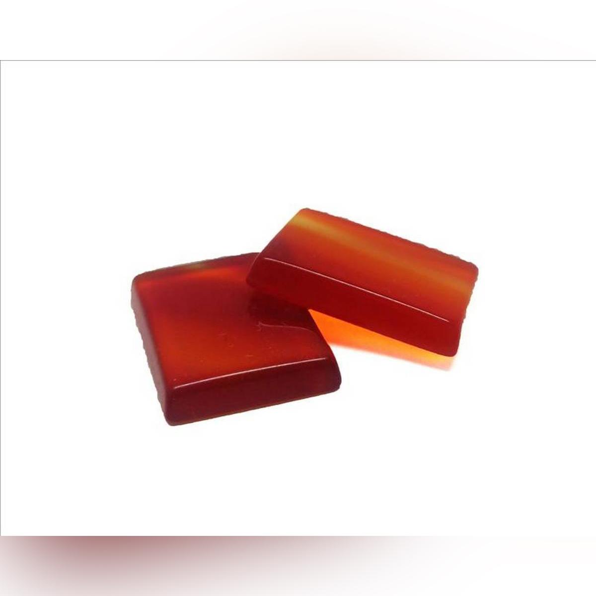 Pure Sulemani Yaqoot - 100% Original Orange And Red Colored Gemstone