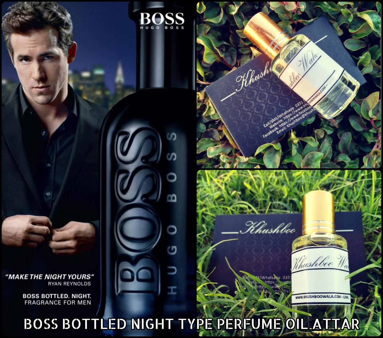 Boss Bottled Night Type Concentrated Perfume Oil Attar 12ml Buy