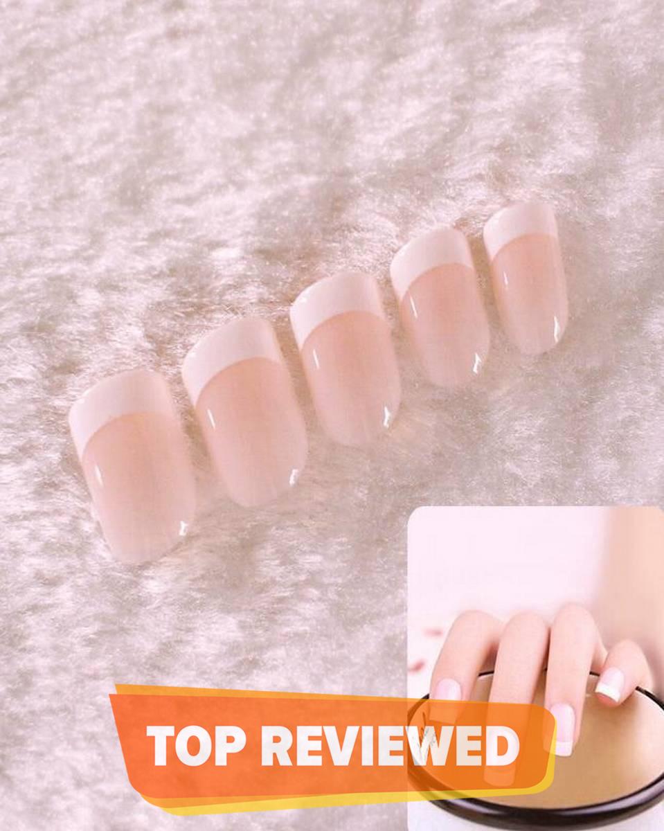 High Quality 12Pcs Women Nails Beauty Nail Art Tips