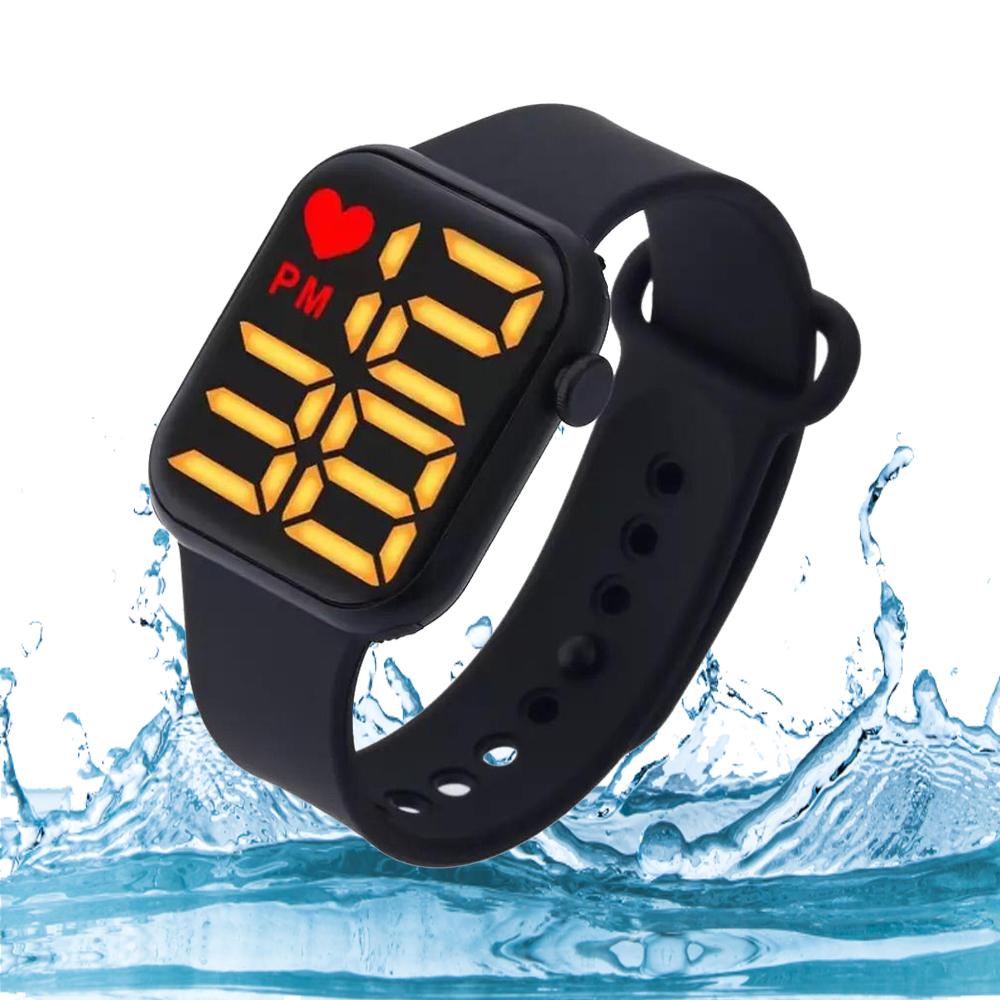 Stylish Sports Digital Watch For Men /  100% Waterproof Watch For Women & Kids Boys Girls SB FIT