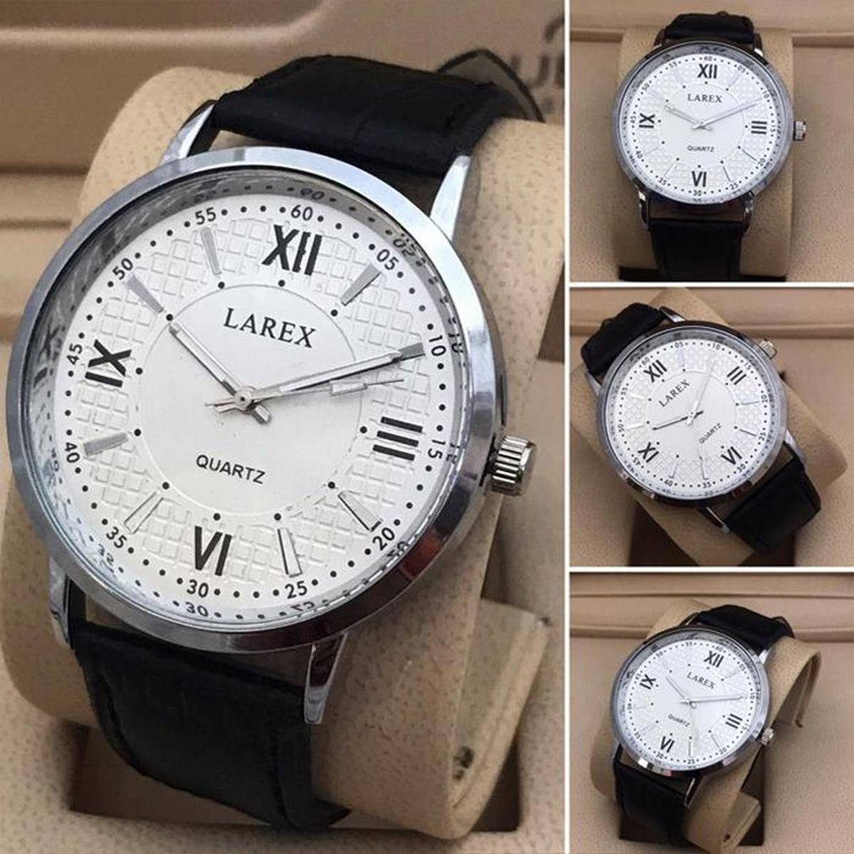Larex Casual Watch for Man Quartz Watches for Boys & Men New Fashion Wrist watch for Casual And Party Wear and Gifts