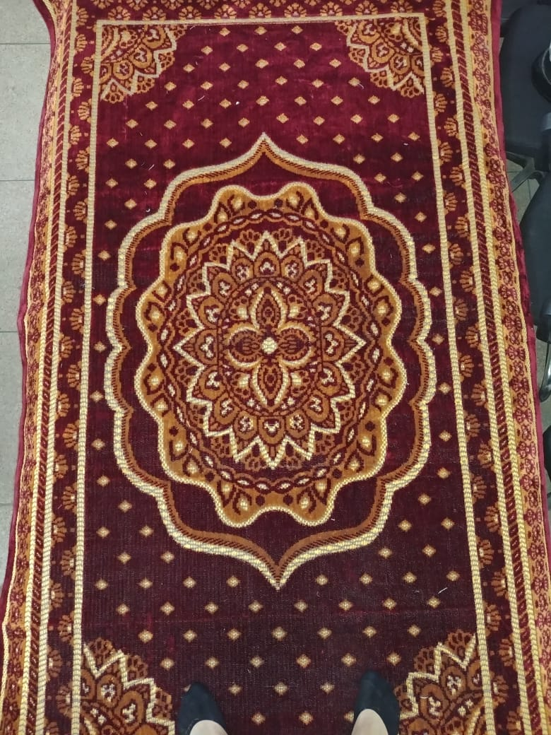 Unique Soft High Quality Rugs and Carpet Quilted Floor Covering Rug /Rug and Wool Mat / Chatai / Multicolor Kaleen 5 X 8 ft