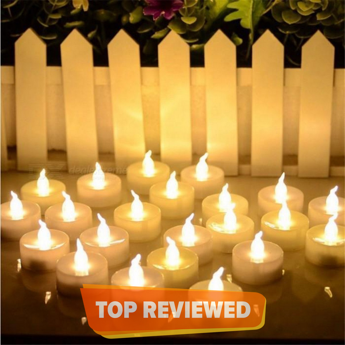 Mini Electric LED Candle - 12pcs