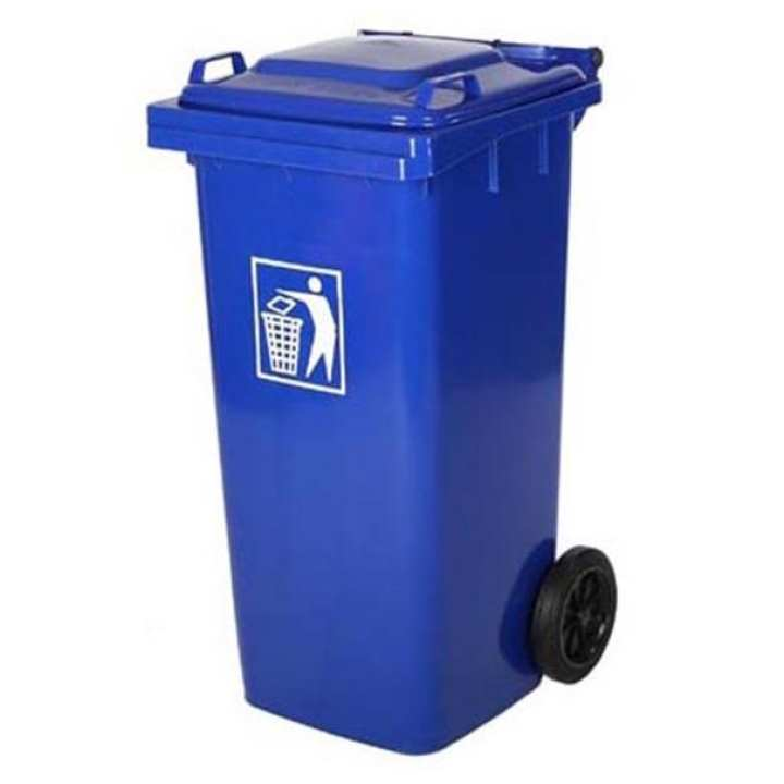Outdoor Dustbin 240 liters with Wheels