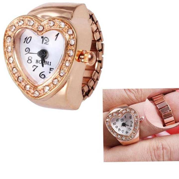 Finger Heart Exclusive Ring Watch For Her