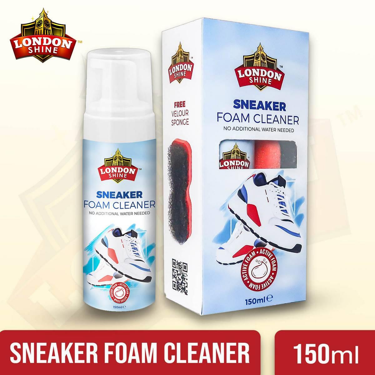 LONDON SHINE SNEAKER FOAM CLEANER 150 ml