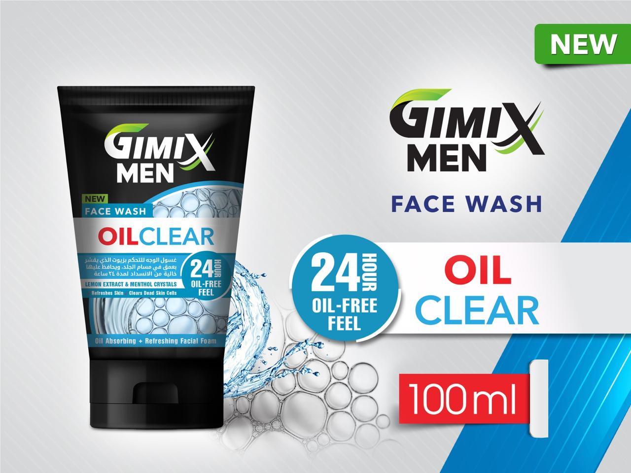 Gimix Men Oil Clean Face Wash