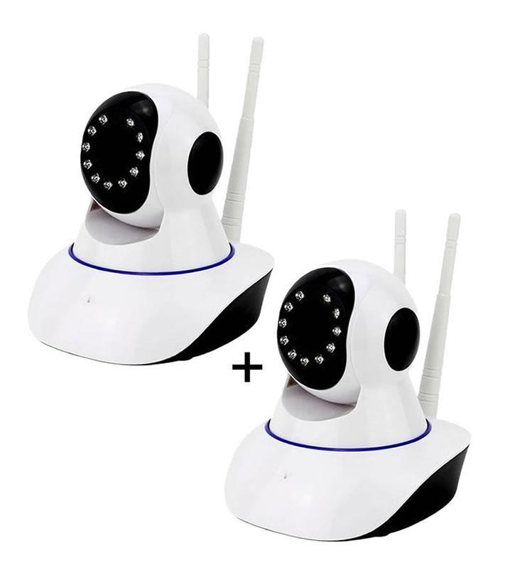 Pack Of 2 - Ip Wireless Wifi Rotating Cameras - Ardpipc1