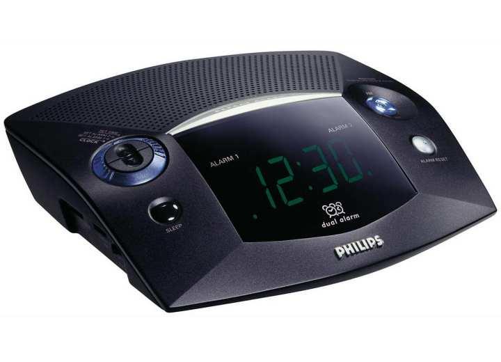 Philips Digital Tuning Alarm Clock Radio With Dual Alarm AJ3225