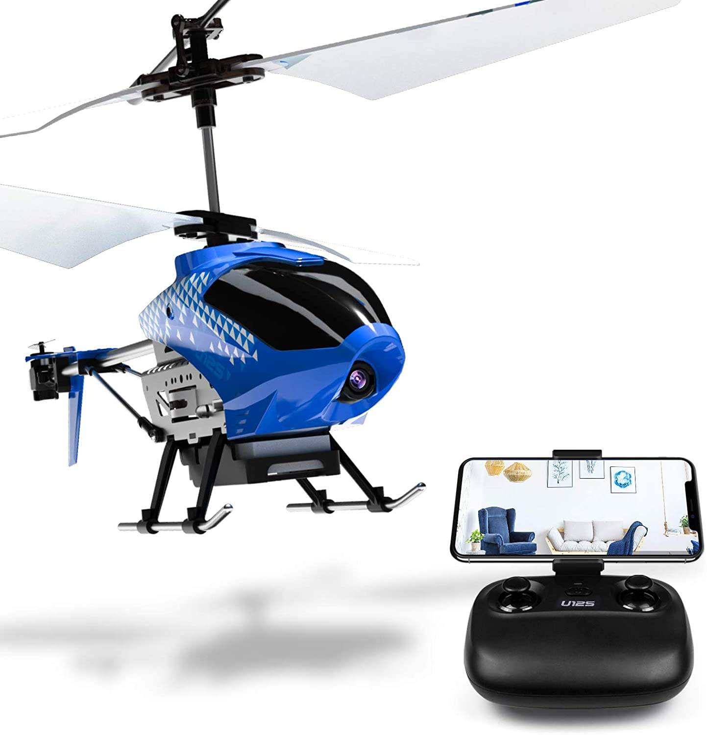 Mini RC Helicopter with Remote Control Helicopter for Kids and Adults